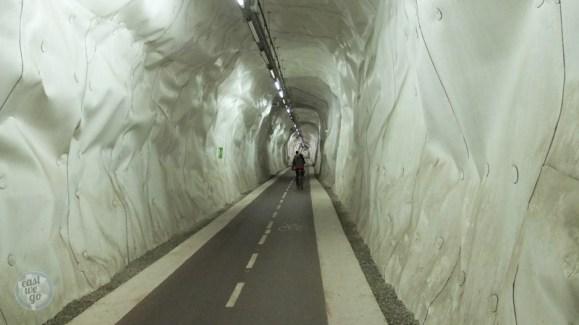 Bicycle tunel - San Sebastian