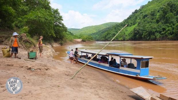 Boat Muang Khua to Muang Ngoi-8