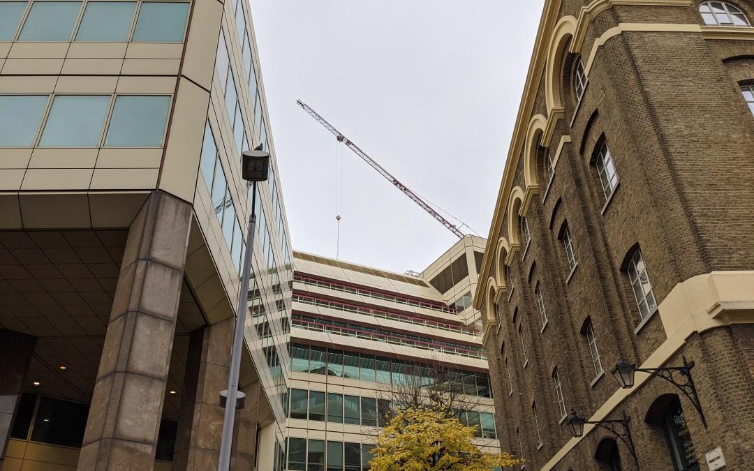 Cottons Centre Crane Lift