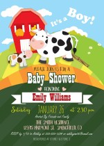Cow Baby Shower