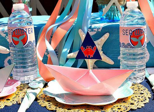 ocean baby shower party idea