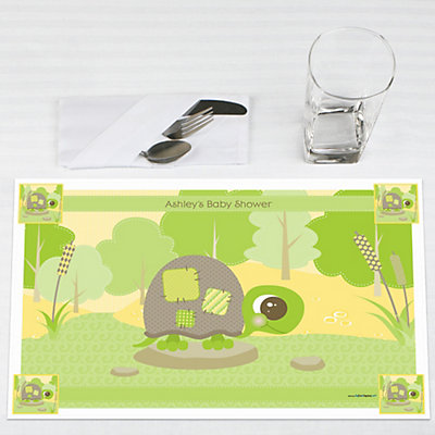 Baby Turtle party place mats