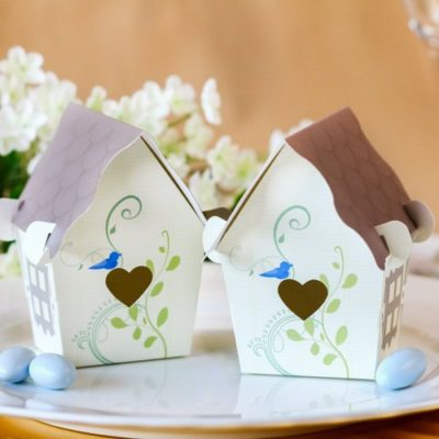 bird house baby party boxes