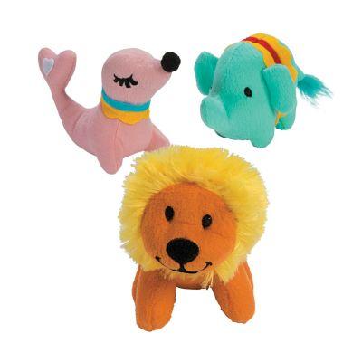 Circus animals stuffed toys