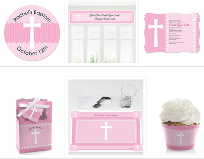 baby girl dedication party supplies