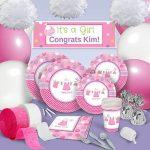 baby girl party theme kit