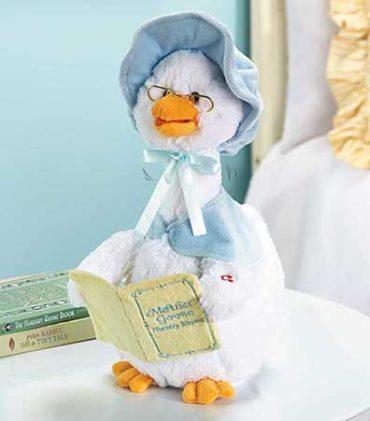 Talking Mother Goose Nursery rhyme plush