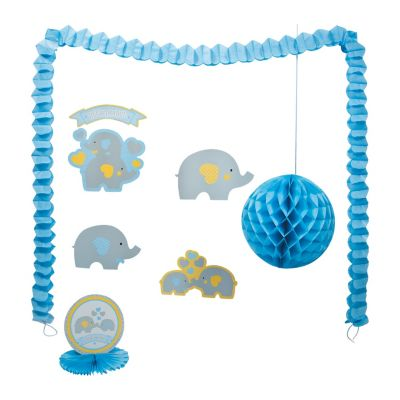 Elephant little peanut baby shower decorating kit