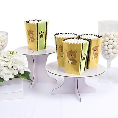 DIY Teddy Bear baby shower popcorn box
