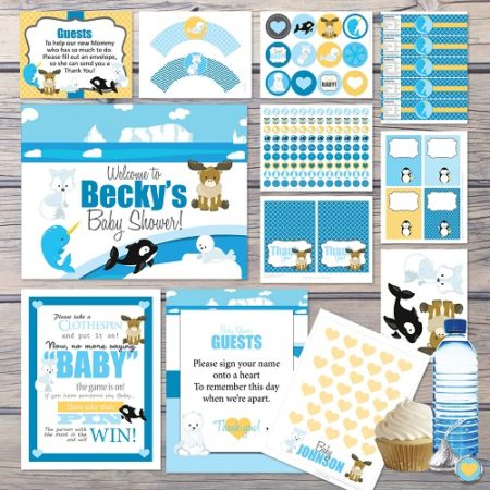 Winter Baby Shower Ideas