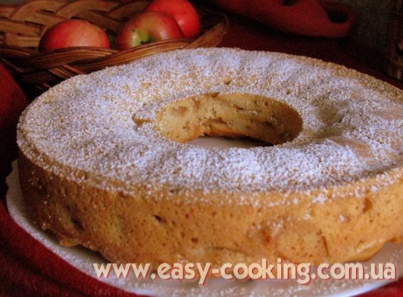 Вкусная шарлотка с яблоками - Рецепт осенней выпечки - Кулинарный блог Катрусина кухня