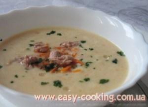 Крем-зупа або суп-пюре з картоплі