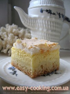 The Ukrainian Meringue Cheese Cake Recipe