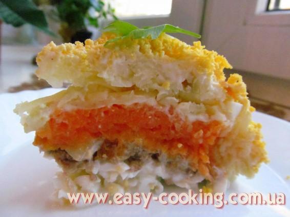 Салат з рибою