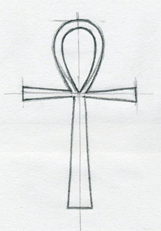 cross drawings ankh sketch crosses easy christian sketches drawing draw simple interesting different tattoo templates egyptian template outline clip symbol