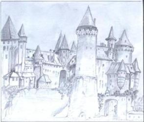 Castle Drawings Gallery