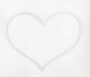 heart drawings draw drawing sketch hearts easy sketches cool learn 3d quotes cliparts very quotesgram enlarge paintingvalley hear library clipart