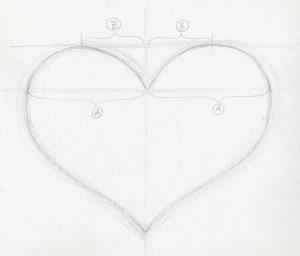 draw heart drawings simple sketch easy cross hearts 3d sketches hear learn very cliparts quotes beginning