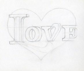 heart drawings draw easy drawing cute hearts broken sketches pencil word cool very step boyfriend learn hard arts getdrawings letters