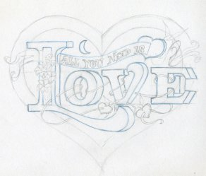 drawings easy draw drawing hearts heart pencil need sketches rose roses tattoo cliparts enlarge shaped quotes library clipart trace stuff