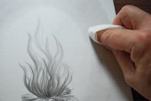 drawings drawing beginners tools basic easy sketches paper tissue enlarge paintingvalley