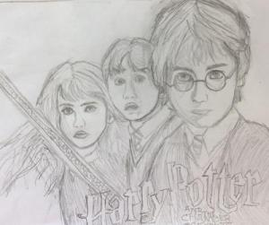 potter harry drawing sketch character drawings simple easy characters sketches chamber secrets draw coloring pages utah