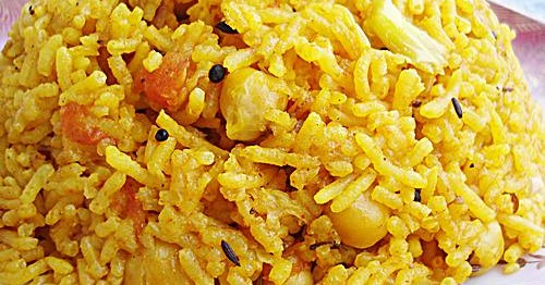 channa chole chickpeas rice pulao