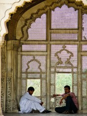 Tuuletusikkuna Lahoren linnoituksessa