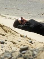 Päiväunet hiekkadyynillä