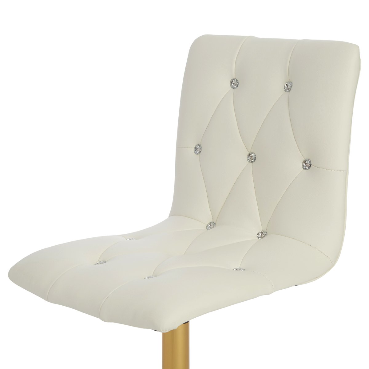 Tufted Vanity Chair Evelyn Diamond Tufted Vanity Chair