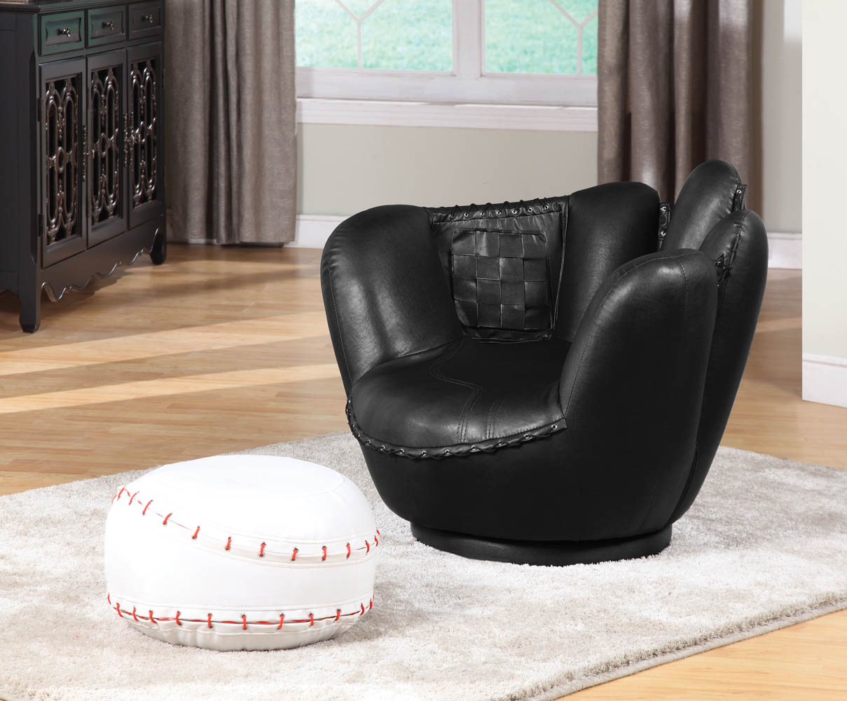 Kids Baseball Chair Our Baseball Glove Chair And Ottoman Baseball Is A Great