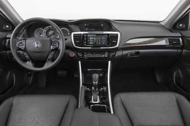 2016 Honda Accord Dashboard