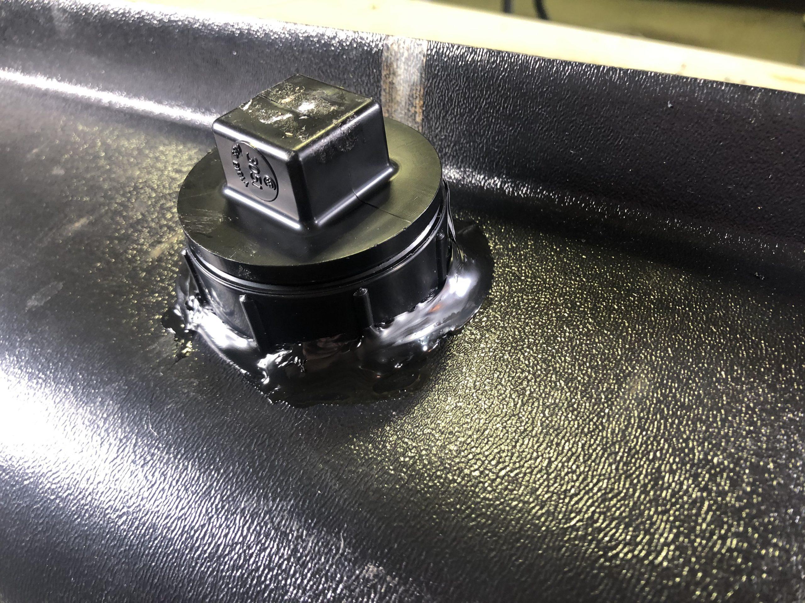 RV Holding Tank