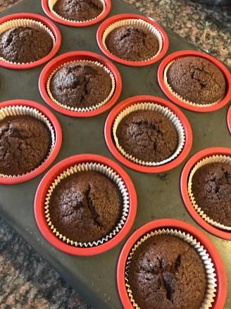 Choc cupcakes 4