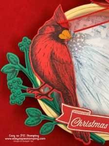 Embroidery Hoop Christmas Ornament