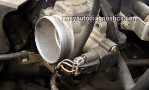 Part 1 How to Test the 30L Ford Escape Throttle Position Sensor (TPS)