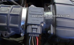 Part 1 How to Test the Ford Mass Air Flow (MAF) Sensor