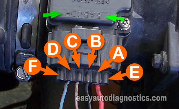 air flow meter wiring diagram electric symbols part 2 -how to test the ford mass (maf) sensor