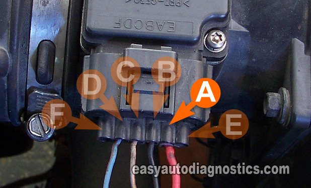 2004 Ford Mustang Wiring Diagram Part 3 How To Test The Ford Mass Air Flow Maf Sensor