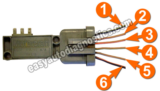 mallory distributor wiring diagram simple uml part 1 -how to test the ford ignition control module (distributor mounted)
