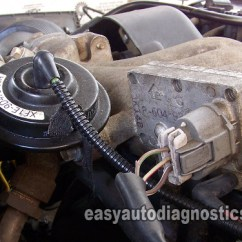 2002 Mercury Cougar Engine Diagram Wiring For Small Utility Trailer Part 1 How To Test The Ford Egr Valve Vacuum Solenoid Dpfe Sensor