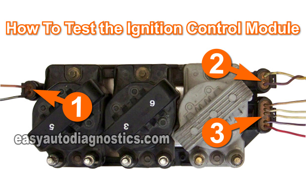 3100 V6 Engine Wiring Diagram Part 1 Testing The Ignition Module And Crank Sensor Gm 3