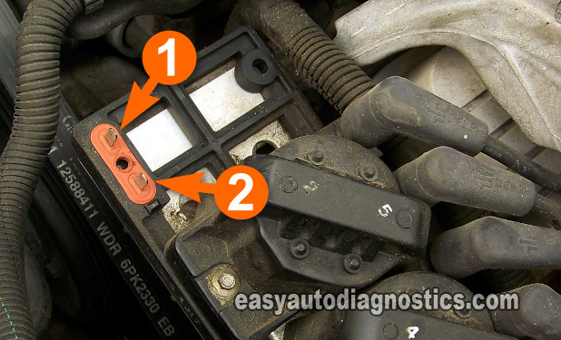 This Is One Of The Easiest Gm Ignition Control Modules To Test This