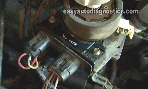 5 7 distributor cap diagram hss wiring part 1 how to test the gm mounted ignition module