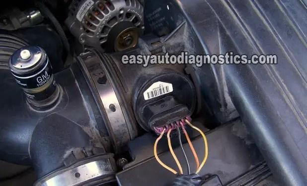 Pontiac Tps Wiring Part 1 How To Test The Gm Maf Sensor Express And Savana