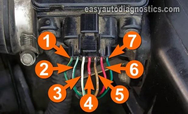 1997 Dodge Stratus Wiring Diagram Part 1 Maf Sensor Test 2 4l 3 0l Mitsubishi 1999 2004