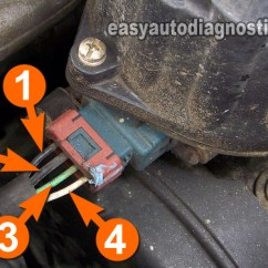 Mitsubishi Montero Wiring Diagram Cell Phone Parts Part 1 -testing The Power Transistor, Ignition Coil, And Crank Sensor