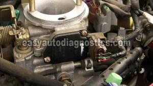 Part 1 Frontier, XTerra MAF Sensor Test P0100: Mass Air Flow (MAF) Circuit Malfunction