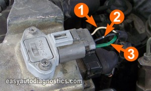 Part 6 Power Transistor Test and Ignition Coil Test 24L Nissan Altima (19931997)