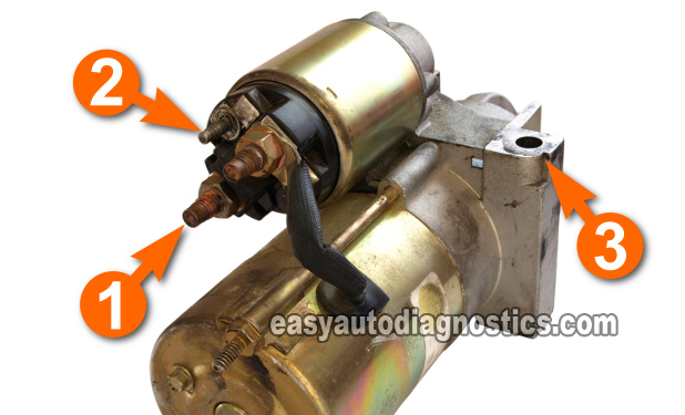 Part Winding Start Motor Wiring Diagram Part 2 How To Test The Starter Motor On The Car Step By